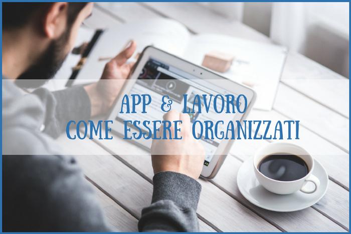 5 app per lavorare organizzati