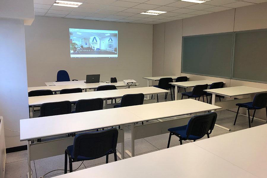 Sala Formazione Aries Workspace